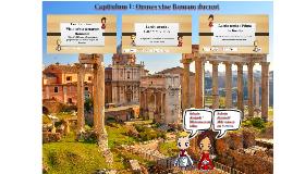 Capitulum 1 : Omnes viae Romam ducunt