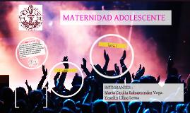 Copy of MATERNIDAD ADOLESCENTE