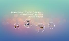 Perceptions of Asian Quietness