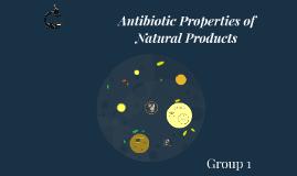 Anti-Biotics