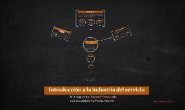 Introducción a la industria del servicio