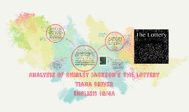 Analysis of Shirley Jackson's The lottery