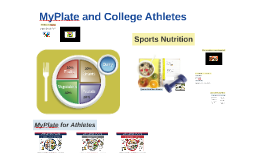 MyPlate and College Athletes
