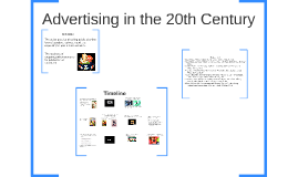Advertising in the 20th Century
