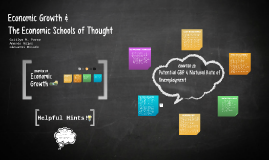 Review of theEconomic Growth & Economic Schools of Thought