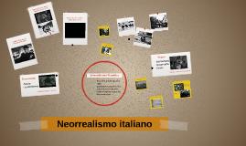 Neorrealismo italiano