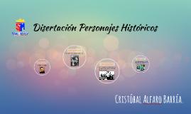 Disertación Personajes Históricos