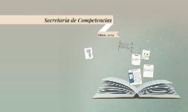 Secretaría de Competencias