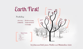 Copy of Earth First!