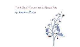 Copy of The Role of Women in Southwest Asia