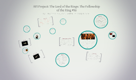 AFI Project: The Lord of the Rings: The Fellowship of the Ri