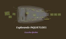 Explorando INQUIETUDES