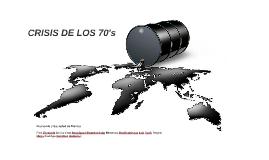 CRISIS DE LOS 70's