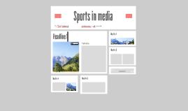 Sports in media