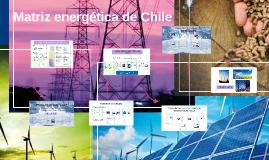 Matriz energética de Chile