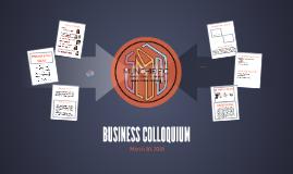 BUSINESS COLLOQUIUM