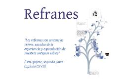 Copy of Refranes