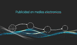 Publicidad enmedio electronicos