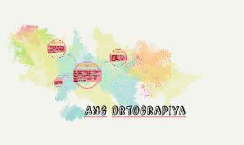 Ang Ortograpiya