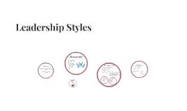Copy of Leadership Styles
