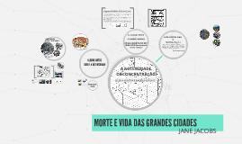 MORTE E VIDA DAS GRANDES CIDADES