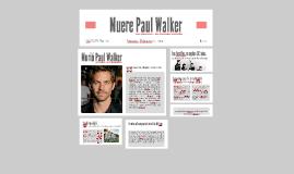 Muere Paul Walker