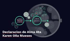 Declaracion de Alma Ata