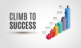 Copia de Climb to Success- Prezi Template