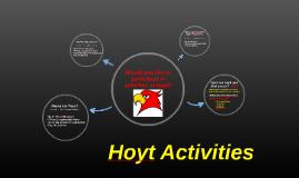 Copy of Hoyt Hawk Activities