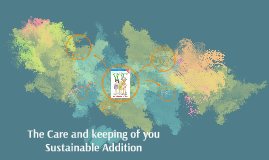 The Sustainable Care and Keeping of You