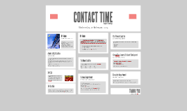CONTACT TIME
