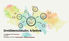 Copy of Dreidimensionales Arbeiten