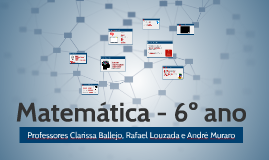 Matemática - 6º ano