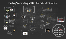 Copy of Finding Your Calling Within the Field of Education