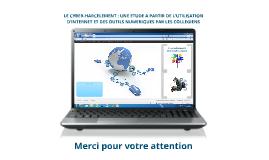 Copy of Copy of Pratiques numériques des jeunes