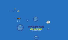 Film Sudies Paper 1 Superhero Films