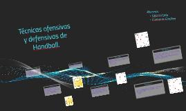 Copy of Tecnicas ofensivas y defensivas de Handball-