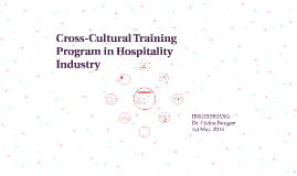 Cross-culture Training Program in Hospitality Industry