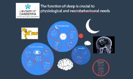 The Function of Sleep