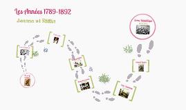 Les Années 1789-1892