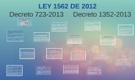 Copy of LEY 1562 DE 2012