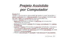 03 Projeto Assistido por Computador