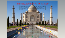 sistema educativo en la India