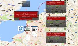 L'organisation du territoire de la région Hauts-de-France