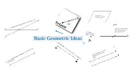 Basic Geometric Ideas