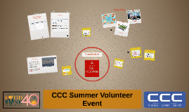 CCC Summer Volunteer Event