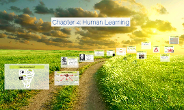 Copy of Chapter 4: Human Learning