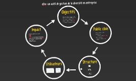 eDiv: un outil de gestion de la diversité en entreprise