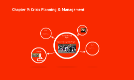 Chapter 9: Crisis Planning & Management