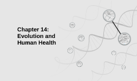 Chapter 14: Evolution and Human Health